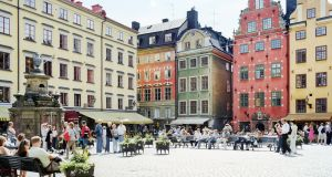 Square in  Gamla Stan, Stockholm: If Ireland taxes like Swedes, the wealthiest will pay a little more, and everyone else will pay quite a bit more. The poorest will pay a lot more.