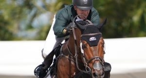 Ireland's Shane Sweetnam and Chaqui Z in action. Photograph: Sportfot