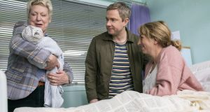 The idea of Martin Freeman's new show Breeders first came to him in his sleep.