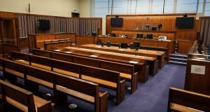 A 29-year-old man has pleaded not guilty to 23 counts of sexually assaulting four girls at a Leinster creche on dates between February 2015 and December 2016. File photograph: Collins Courts