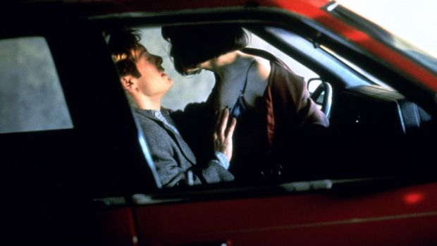 James Spader and Holly Hunter in the David Cronenberg film Crash