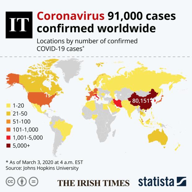 Coronavirus covid 19 hopkins