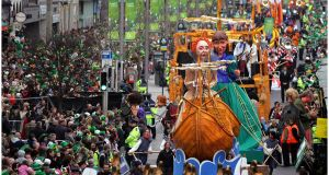 A leading international virologist and expert on influenza has said the Government should cancel St Patrick's Day parades to avoid the spread of the coronavirus. Photograph: The Irish Times