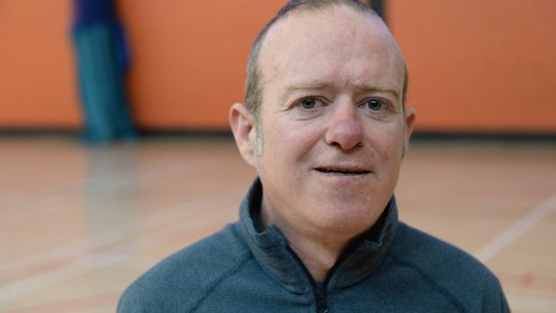 Anthony Conway, pictured at Kilmore West Recreational Centre, Dublin. Photograph: Dara Mac Dónaill/The Irish Times