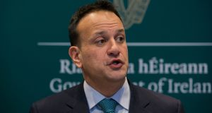 Taoiseach Leo Varadkar has said the Dáil may have to legislate to ensure employees' rights are maintained if workers are asked to self-isolate to deal with Covid-19. File photograph: Gareth Chaney/Collins