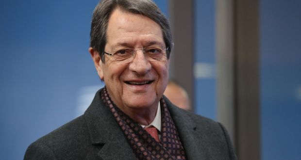 Cypriot president Nicos Anastasiades: 'We acknowledge human suffering. But at the same time, we must take measures against efforts to alter the demographic character of our country.' Photograph: Ludovic Marin/AFP via Getty Images