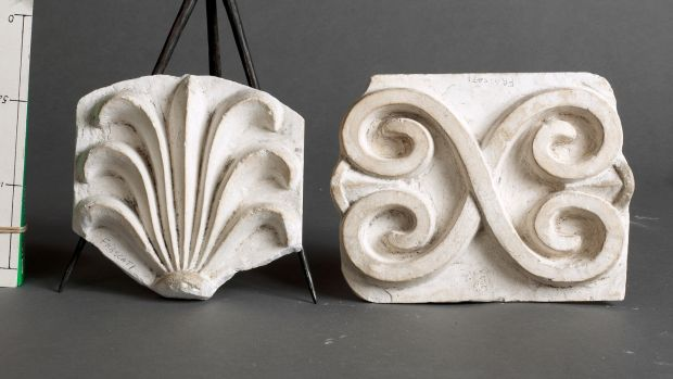 Plasterwork cornicing from Frascati House, Pearson Collection