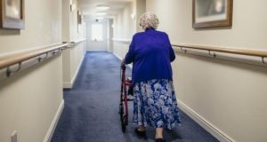 People in nursing homes are  particularly vulnerable to Covid-19. Photograph: iStock