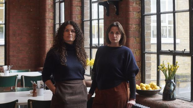 Sisters Aoife and Johanna Ledwidge of J+A Cafe in a Victorian former diamond cutting factory in Clerkenwell, make the list for the first time.