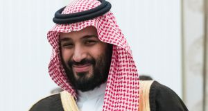 Saudi Crown Prince Mohammed bin Salman. Reports suggest  that Saudi officials have arrested members of the royal family for allegedly plotting a coup. File photograph: Pavel Golovkin/AP.