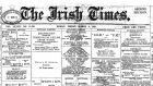 A section of the front page of The Irish Times on March 8th, 1895
