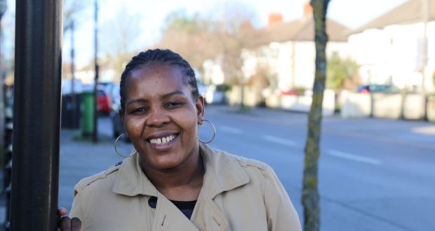 Sibusiso Lowrene, a single mother with two young children, was supported in moving out of direct provision