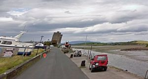 A general view of the Quay in Westport, Co Mayo, where the fatality occurred. Photograph: Google Street View