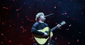 Lewis Capaldi in concert at the 3Arena, Dublin on Sunday night. Photograph: Nick Bradshaw/The Irish Times