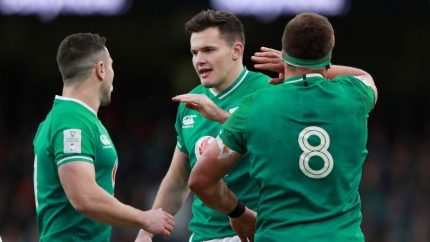 Irish backstop - Ireland's match against France in the Six Nations has been postponed until October. Photograph: Reuters
