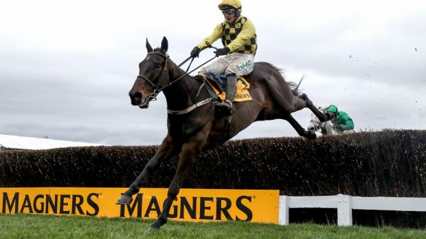 Al Boum Photo is favourite to defend his Gold Cup crown on Friday. Photograph: Dan Sheridan/Inpho