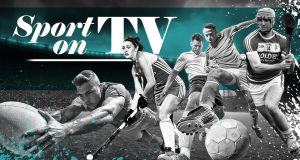 CLICK HERE: Irish Times guide to sport on TV this week