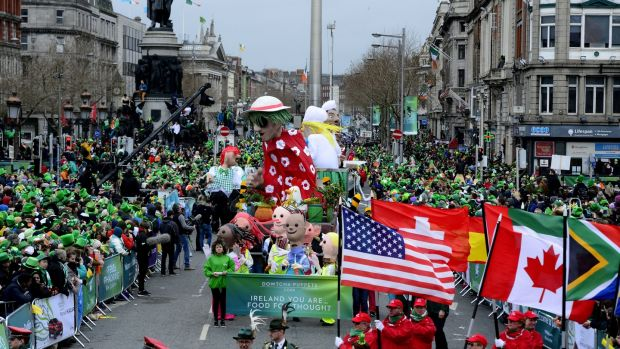 Moves to cancel or scale back St Patrick's Day parades across the world have effectively torpedoed Irish tourism's key talking point. File photograph: Cyril Byrne