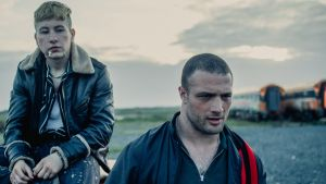 Barry Keoghan and Cosmo Jarvis in Calm with Horses