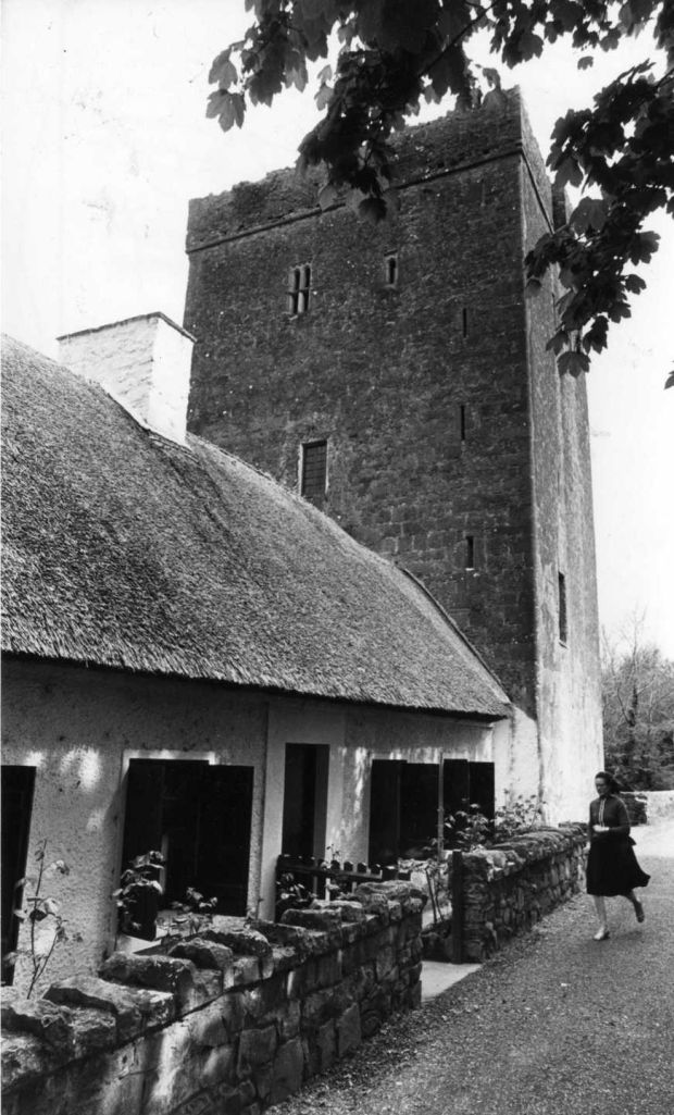 Thoor Ballylee, near Gort, Co Galway, in 1979. Photograph: Pat Langan