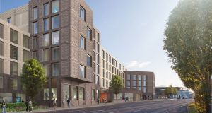 Cairn Homes secured  planning  in March 2018 for 578 student bed spaces and 103 apartments on the former Blakes site in Stillorgan.