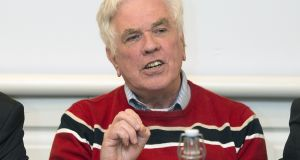Campaigner for the homeless Fr Peter McVerry has said Fianna Fáil and Fine Gael would have to fix the housing crisis if they go into government 'or get massacred at the next general election'. File photograph: Dave Meehan/The Irish Times.