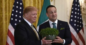 Miriam Lord: Will Donald touch the shamrock bowl if Leo has touched it first?