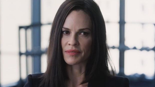 Hilary Swank in The Hunt