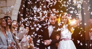 The recommendation that weddings with more than 100 guests be cancelled follows a significant increase in the number of cases of coronavirus in recent days. Photograph: iStock