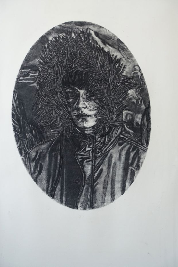 Gary Coyle, Portrait of a Boy, Kevin Kavanagh Gallery