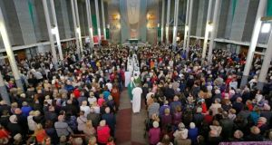 Most religious services across the State are being cancelled or restricted in light of the Government's recommendations on reduced gatherings due to coronavirus.Photograph: Nick Bradshaw for The Irish Times