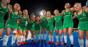 As the  team will not be travelling they will therefore fall under the Hockey Ireland Covid-19 policy guidelines that were issued on Thursday. File photograph: ©INPHO/Morgan Treacy