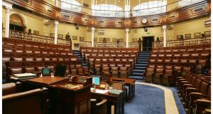 The next Dáil sitting will be for three hours, and the agenda is likely to be restricted to just the legislation which is necessary to extend sick pay.  Photograph: Alan Betson