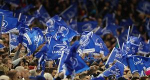 Leinster will be the province to be hit the hardest should the run in to the season be hit by games  held behind closed doors or not at all. Photograph: Billy Stickland/Inpho