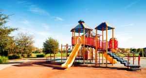 Fingal County Council, Dun Laoghaire-Rathdown County Council and Clare County Council are among the local authorities to publicly state they are closing playgrounds.  Photograph: iStock