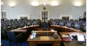 The Seanad chamber. Photograph: Alan Betson