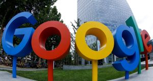 Google is sharing users' personal data between its services without acquiring specific consent to do so, one of its smaller rivals, Brave, has claimed. Photograph: Thomas Peter/Reuters