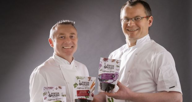 Chefs Gavin Cassidy and Eoin Lennon: have over 50 years' experience in the food industry between them
