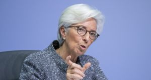 Christine Lagarde's statement that other actors should be responsible for bond spreads, using other instruments, is troubling.