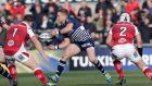 Ian Madigan in action for Bordeaux against Ulster in2017 - he is to join the province on a one-year deal. Photograph: Morgan Treacy