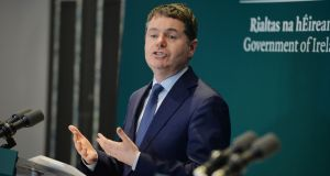 Minister for Finance and Public Expenditure and Reform, Paschal Donohoe. Photograph: Alan Betson / The Irish Times