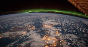 Ireland as spotted from space: with St Patrick's Day wishes from NASA.