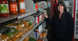 Louise Ferguson, community co-ordinator at the Larder food bank in East Belfast. Photograph:  Colm Lenaghan/ Pacemaker