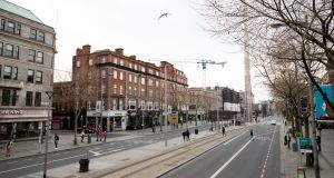 Dublin's  O'Connell Street on St Patrick's Day. Photograph: Tom Honan