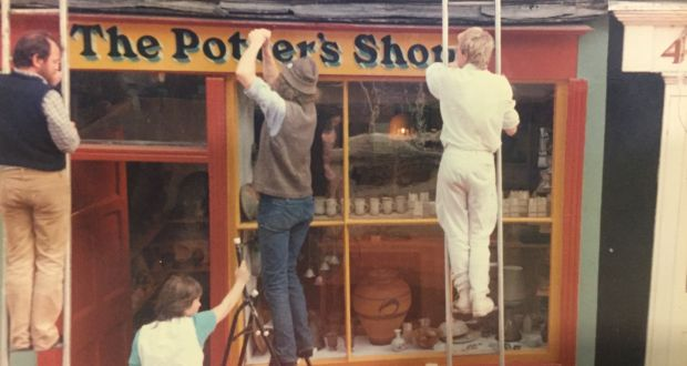 The Potter's Shop, Clonakilty, 1980s. Photograph: Jane Forrester