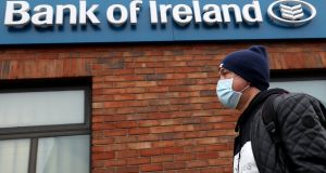 The Central Bank announced on Wednesday afternoon that it was going to allow banks to dip into their rainy-day capital reserves. Photograph: Brian Lawless/PA Wire