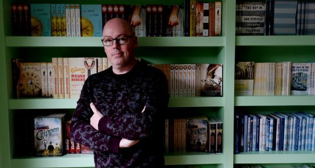 The author John Boyne has set up a short-story competition for children to enter now Ireland's schools have been closed by the threat of coronavirus. Photograph: Alan Betson/The Irish Times