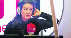 Ciara Kelly told her listeners that she had contracted coronavirus. File photograph: Tom Honan