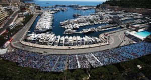 The Monaco Grand Prix is one of three races postponed in May. Photograph:   Mark Thompson/Getty Images