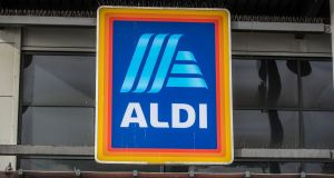 Aldi has introduced priority shopping for the elderly between 11am and 1pm each day, social distancing measures, and the installation of clear screens at every till across its 142 stores. Photograph: Peter Byrne/PA Wire
